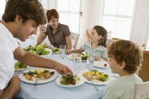 Las ideas de alfabetización para la mesa de la cena