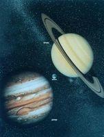 Cómo hacer un modelo de sistema solar para el proyecto de un niño en la escuela