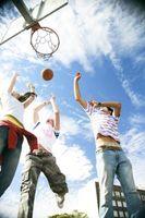 Redes de baloncesto móviles para Niños
