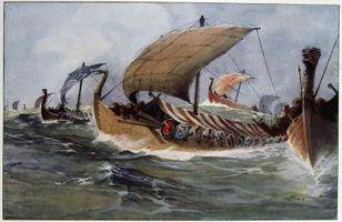 La evidencia histórica sobre los Vikings
