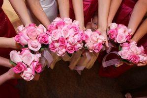 Ideas del tema de la boda de color rosa