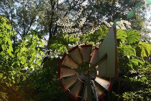 Molino de viento hecho en casa