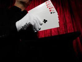 Cómo construir una cubierta Magic Card