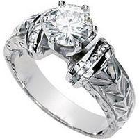 Cómo encontrar baratos Moissanite anillos de compromiso