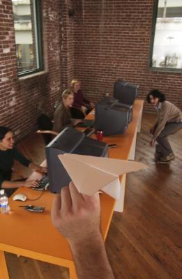Cómo hacer un dardo de Origami