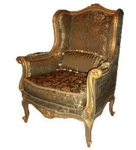 A humedad limpieza de muebles antiguos