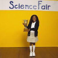 Ciencia Feria de Ideas con el cristal radios