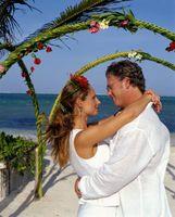 Colores tropicales para una boda