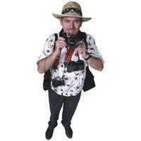 Cómo vestir como un turista para Halloween