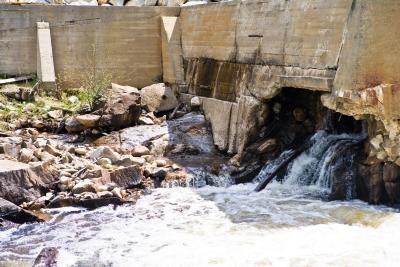 Las características de inundaciones repentinas