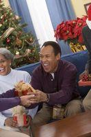 Regalos divertidos de la Navidad en casa