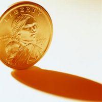 ¿Cuál es el valor de un dólar del oro conmemorativa Sacagawea?