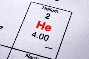 Usos para el elemento helio