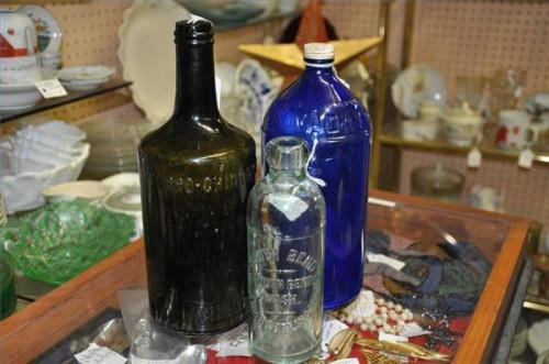 Cómo identificar las botellas de cristal antiguo