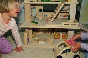 Una positiva y segura zona de juegos para un niño