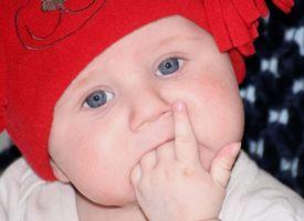 Cambio de color de los ojos en niños