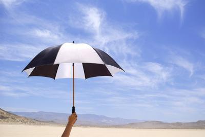 Cómo hacer un paraguas hecho en casa