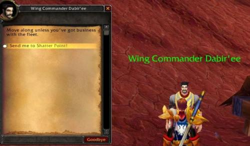 Cómo ir en bombardeos en World of Warcraft: The Burning Crusade