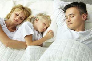 Los Efectos de niños que duermen con los padres