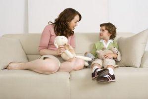 Hablando sobre las virtudes comunicación con los niños