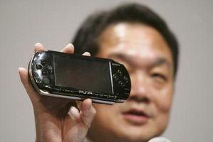 Cómo arreglar una pantalla en blanco PSP
