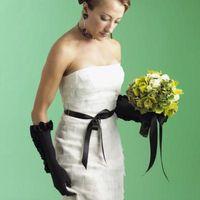 Cómo hacer un vestido de novia colorido