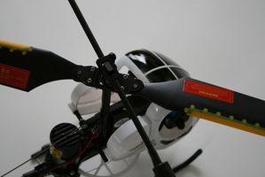 Cómo construir un helicóptero de juguete