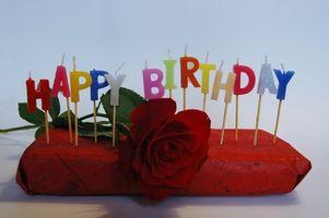 ¿Cómo hacer una carta de cumpleaños a mi esposa