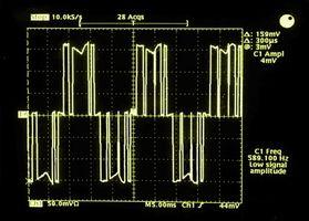 Cómo medir la corriente con un osciloscopio