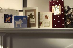 Cómo hacer que las ideas hechas en casa de Navidad tarjetas personales con fotos