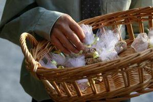 Cómo hacer Birdseed Bolsas para bodas