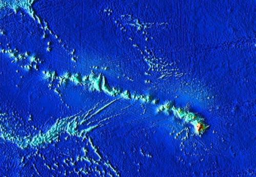¿Cómo funcionan los puntos de acceso nos ayudan a determinar la edad relativa de las islas de Hawai?