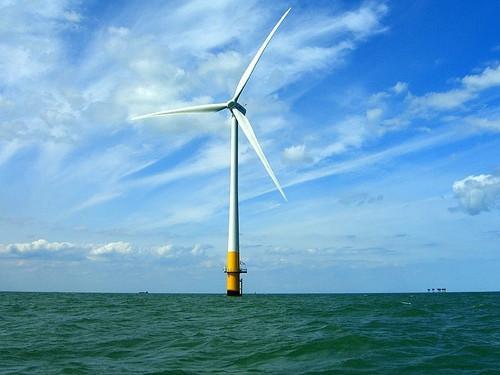 La ley de turbinas eólicas