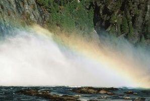 ¿Cómo se genera un arco iris?
