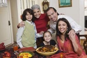 Actividades para la familia de Acción de Gracias
