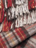 Cómo hacer una bufanda de doble cara con una franja