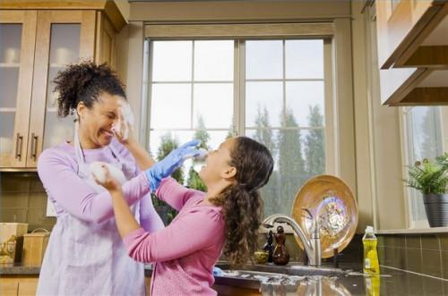 ¿Cómo hacer la mayor parte de ser un ama de casa madre
