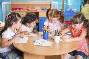 Tipos de Curriculum cuidado de niños Centros Uso