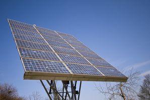 Cómo usar la energía solar para producir electricidad