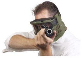 Cómo cargar una pistola de paintball REX R1
