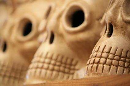 Cómo esculpir un cráneo del azúcar