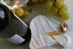 Cómo enviar la fruta, queso y vino Cestas