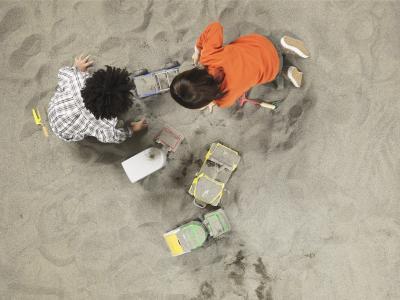 Cómo construir su propia caja de arena solar con tubos de PVC y ventilador