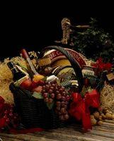 Productos alimenticios para los regalos de Navidad