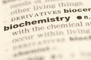 ¿Porqué los científicos caracteres bioquímicos Uso?