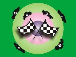 Ideas juego premio con el tema de NASCAR