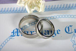 Los cambios de nombre después del matrimonio en Nueva Jersey
