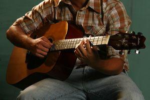 Cómo proteger los dedos al tocar la guitarra