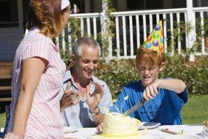 Las tortas de cumpleaños para los 13 Mejores Años de Edad