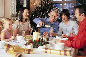 Ideas de menú de la cena de Navidad casuales